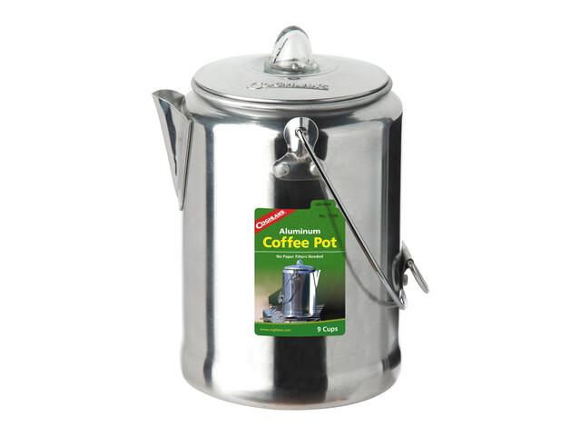 Coghlans Percolator-Kaffee-Kanne - aluminium gris